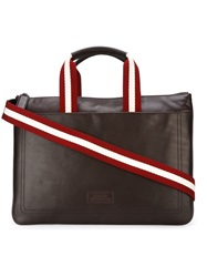 Bally 'Tigan' Briefcase Brown