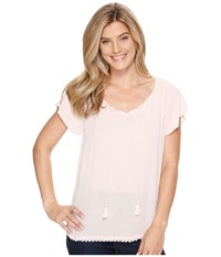Ariat Carrie Top Caprise Pink Women's Clothing