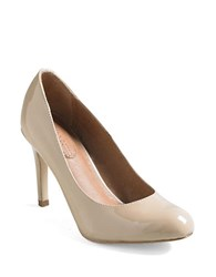 Corso Como Del Patent Leather Pumps Beige