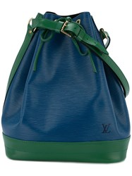Louis Vuitton Vintage Noe Drawstring Shoulder Bag Green