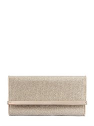 Jimmy Choo Milla Glitter Fabric Clutch