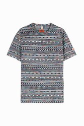 Missoni Men S Aztec Print T Shirt Boutique1 Multi