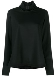 Forte Forte Asymmetric Sweater Black