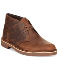 Clarks Collection Women's Acre Bridge Booties Women's Shoes Tan Leather
