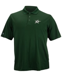 Antigua Men's Short Sleeve Dallas Stars Polo Shirt Green