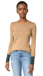 Bailey 44 Highly Selective Sweater Camel Evergreen