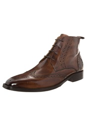 Melvin And Hamilton Jeff Laceup Boots Classic Tan Brown