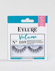 Eylure Volume 109 False Eyelashes Volume 109 Black