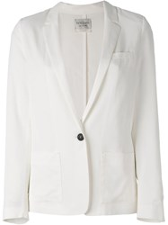 Forte Forte One Button Blazer White