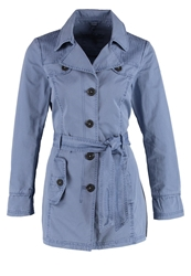 S.Oliver Trenchcoat Blue Blue Grey