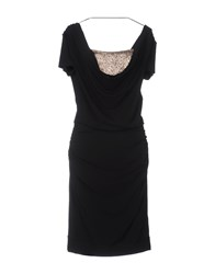 Toy G. Knee Length Dresses Black