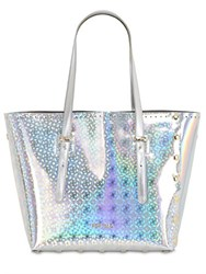 Pop Bag By Jandc Medi Holographic Leather Tote