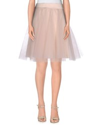 Imperial Star Imperial Skirts Knee Length Skirts Women Light Pink