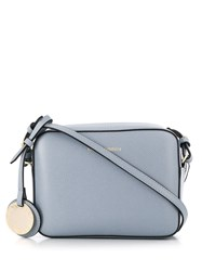 Emporio Armani Logo Cross Body Bag Blue
