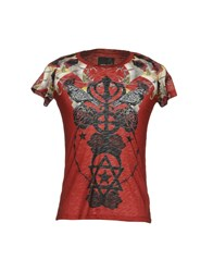 Les Eclaires T Shirts Brick Red