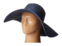 Echo Metallic Floppy Hat Deep Blue Sea Traditional Hats