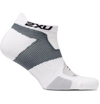 2Xu Racing Vectr No Show Compression Socks White