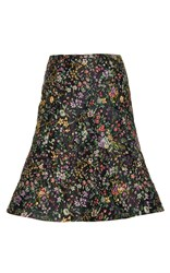 Alexis Mabille Floral A Line Skirt