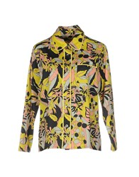 Laura Urbinati Shirts Light Yellow