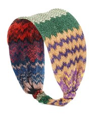 Missoni Metallic Headband Multicoloured