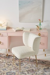 Anthropologie Clemence Dining Chair Ivory
