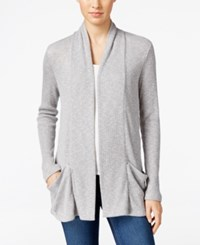 Calvin Klein Jeans Ribbed Open Front Cardigan