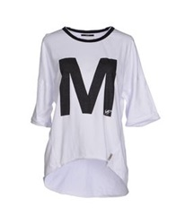 Meltin Pot T Shirts White