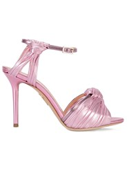 Charlotte Olympia Strapped Sandals Pink Purple