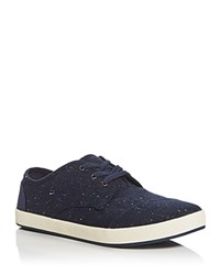 Toms Paseo Lace Up Sneakers Navy
