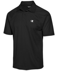 Champion Men's Vapor Performance Polo Black