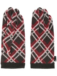 Undercover Knitted Gloves Brown