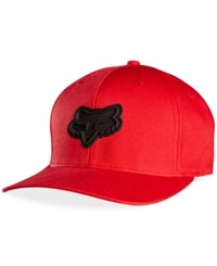 Fox Men's Barraged Flex Fit Hat Red