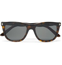 Tom Ford Andrew Square Frame Tortoiseshell Acetate Sunglasses Brown