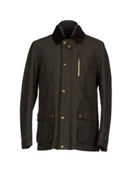 Brooksfield Jackets Military Green