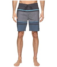 Rip Curl Rapture Stripe Lay Day Boardshorts Black Men's Swimwear