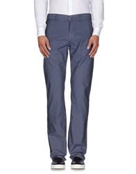 Fay Trousers Casual Trousers Men Slate Blue