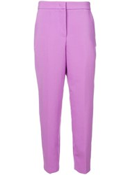 Essentiel Antwerp Sunny Side Tailored Trousers Purple