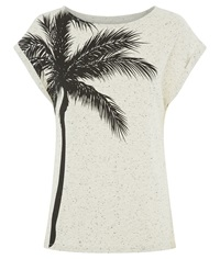 People Tree Palm Tree Tee Black