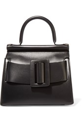Boyy Karl24 Small Buckled Leather Tote Black