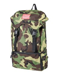 Manhattan Portage Backpacks And Fanny Packs Military Green