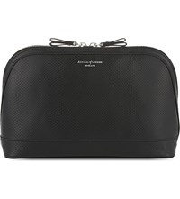 Aspinal Of London Hepburn Leather Cosmetic Case Black