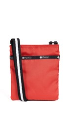 Le Sport Sac Lesportsac Madison Mini Slim Crossbody Bag Fire Red
