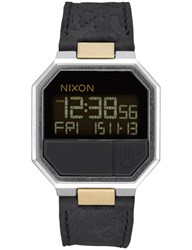 Nixon Re Run Leather With Brass Details