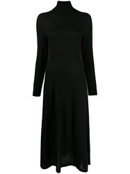 N.Peal Roll Neck Fine Knit Dress 60
