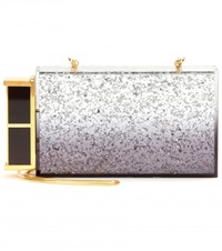 Tom Ford Minaudiere Box Clutch Metallic