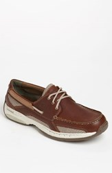 Men's Dunham 'Captain' Boat Shoe Brown