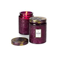 Voluspa Japonica Limited Edition Glass Candle Santiago Huckleberry Large