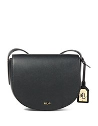 Lauren Ralph Lauren Mini Caley Saddle Bag Black