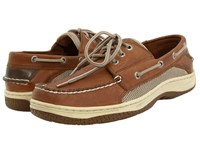 Sperry Billfish 3 Eye Boat Shoe Dark Tan Men's Lace Up Casual Shoes Brown