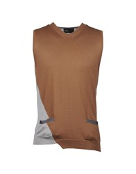 Kolor Knitwear Sweater Vests Men Grey